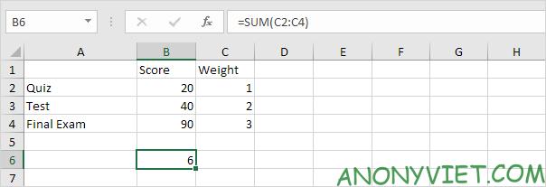 Bài 186: Tính điểm thi trung bình trong Excel 27