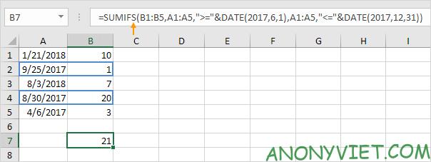 Bài 111: Tính tổng có điều kiện trong Excel 72