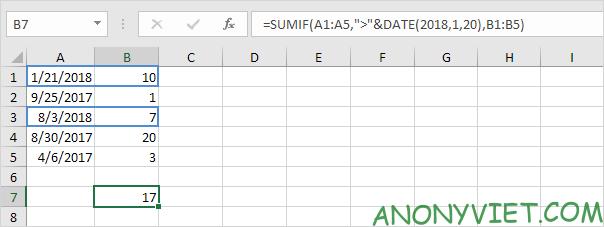 Bài 111: Tính tổng có điều kiện trong Excel 70