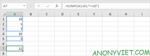 Bà 114: Toán tử so sánh trong Excel 54