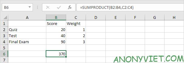Bài 186: Tính điểm thi trung bình trong Excel 26