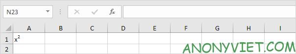Bài 50: Cách thêm Chỉ số trên và chỉ số dưới trong Excel 37