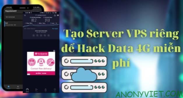tao server vps hack data 4g
