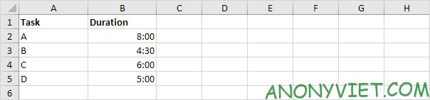Bài 139: Cộng trừ thời gian trong Excel 63