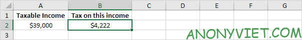 Bài 155: Cách tính thuế trong Excel