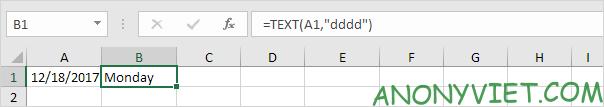 Bài 136: Cách sử dụng hàm Weekday trong Excel 41