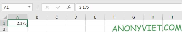 Bài 39: Cách lùi vị trí thập phân trong Excel 25