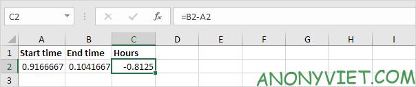 Bài 135: Tính thời gian trong Excel 33