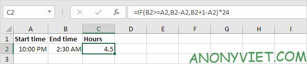 Bài 135: Tính thời gian trong Excel 35