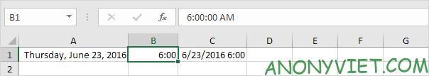 Bài 133: Định dạng Date và Time trong Excel 31