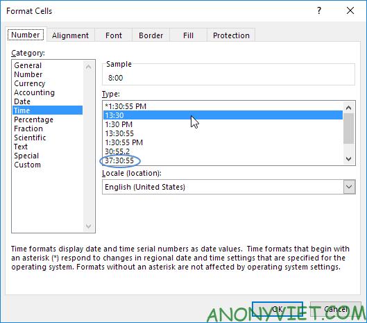 Bài 64: Cách tạo bảng thời gian biểu trong Excel 23