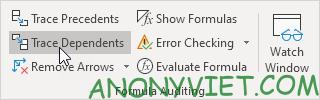 Bài 198: Nhóm Formula Auditing trong Excel 56