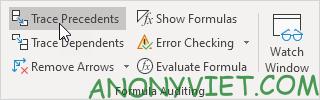 Bài 198: Nhóm Formula Auditing trong Excel 52