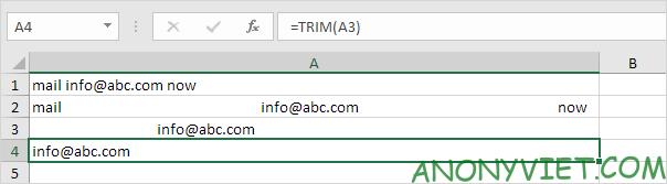 Bài 153: Cách xử lý chuỗi con trong Excel 54