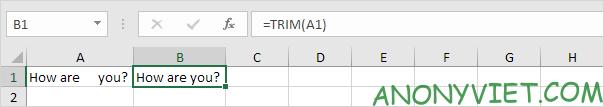 Bài 143: Cách đếm từ trong Excel