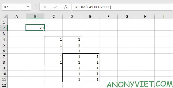 Bài 126: Liên hợp và giao nhau trong Excel 25