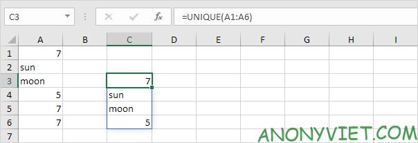 Bài 202: Cách đếm các giá trị duy nhất trong Excel 38