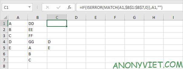 Bài 165: So sánh 2 cột trong Excel 36