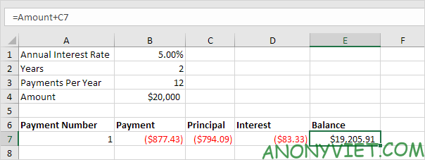 Bài 172: Lập lịch trả dần khoản vay trong Excel 30