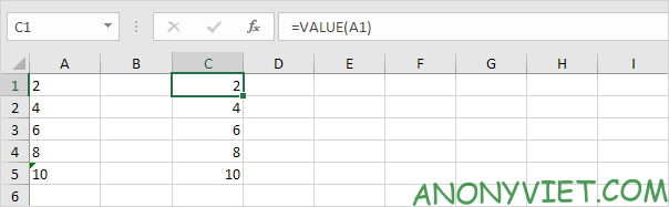 Bài 42: Cách chuyển Chữ thành Số trong Excel 39