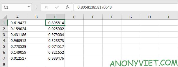Bài 179: Cách tạo số ngẫu nhiên trong Excel 36