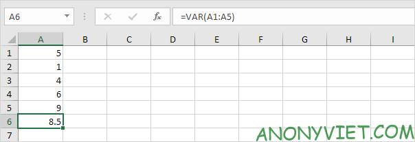 Bài 188: Cách sử dụng hàm STDEV trong Excel 80