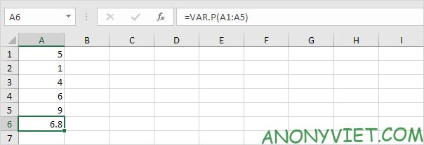Bài 188: Cách sử dụng hàm STDEV trong Excel 78
