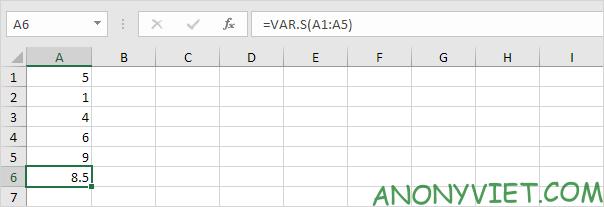 Bài 188: Cách sử dụng hàm STDEV trong Excel 79
