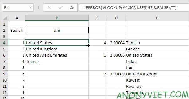 Bài 56: Cách tạo hộp thoại tìm kiếm trong Excel 31