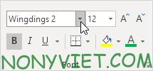 Bài 51: Cách đánh dấu tích √ trong Excel 34