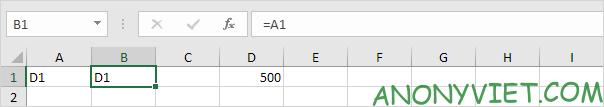 Bài 162: Cách sử dụng hàm INDIRECT trong Excel 44