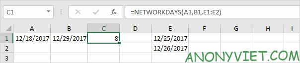 Bài 136: Cách sử dụng hàm Weekday trong Excel 44