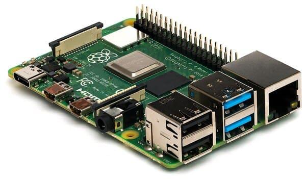 Raspberry Pi hình mẫu