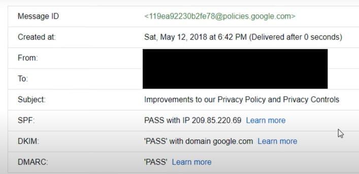 3 cách để kiểm tra email là thật hay giả 10