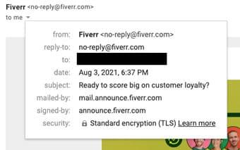 3 cách để kiểm tra email là thật hay giả 8