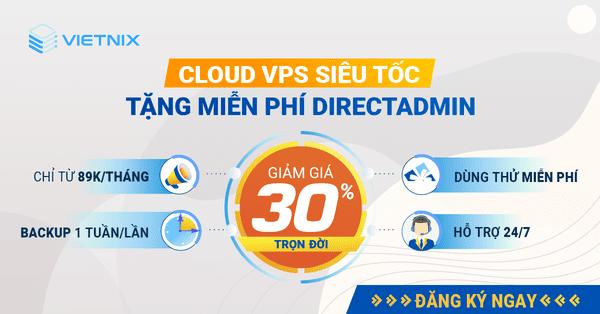 Cập nhật bảng giá Cloud Server Việt Nam mới nhất 13