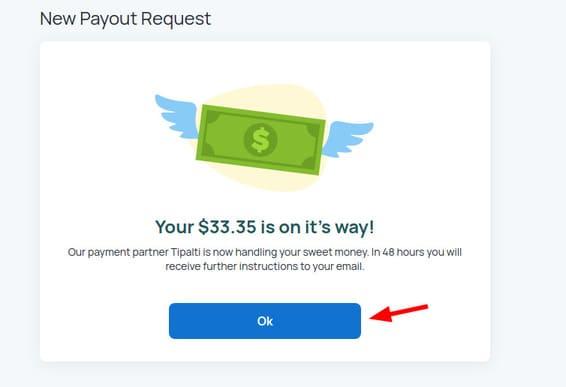 Cách rút tiền trên Honeygain 48
