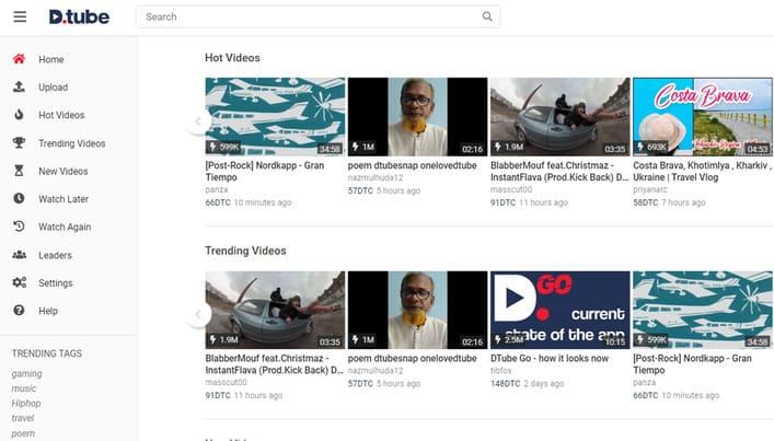 8 lý do bạn nên chuyển từ YouTube sang DTube