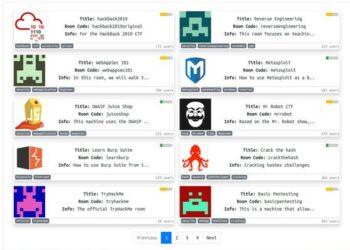 Các Phòng để tập Hack trên Tryhackme 4