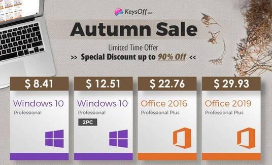 keysoff autumn sale