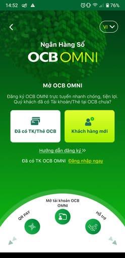 Cách nhận 100k miễn phí trên OCB OMNI 50