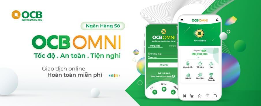 Cách nhận 100k miễn phí trên OCB OMNI