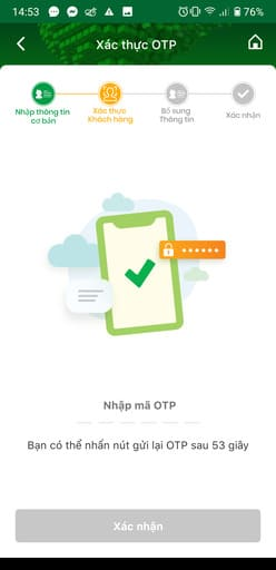 Cách nhận 100k miễn phí trên OCB OMNI 53