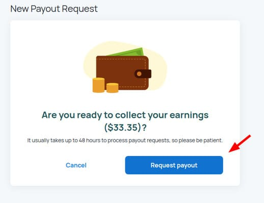Cách rút tiền trên Honeygain 45