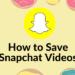 Cách lưu video trên Snapchat 9