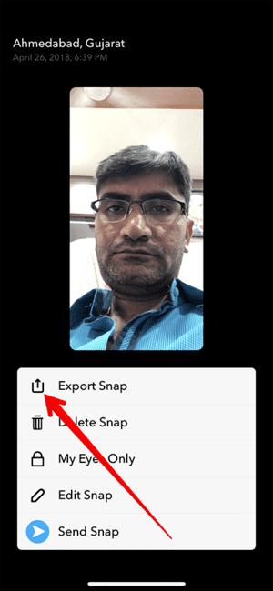 Cách lưu video trên Snapchat 24