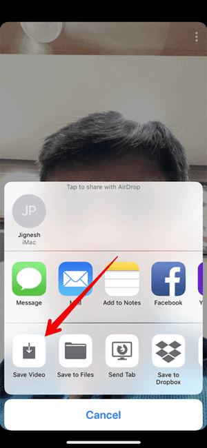 Cách lưu video trên Snapchat 25