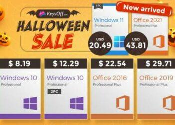 Halloween sale keysoff