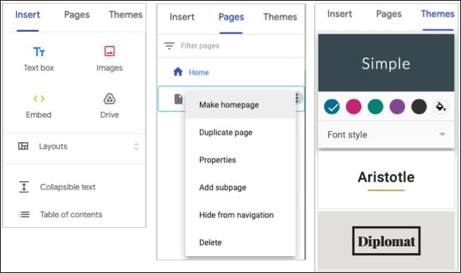 Cách sử dụng Google Sites 47