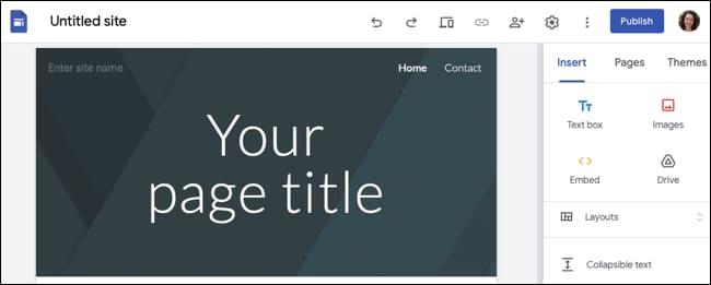 Cách sử dụng Google Sites 44